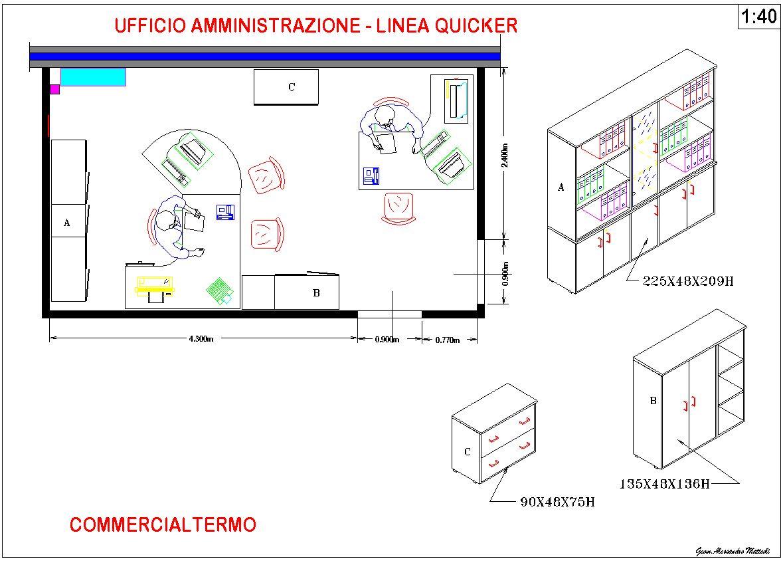 Arredo ufficio alcuni esempi dal 1997 studio tecnico for Arredo ufficio tecnico